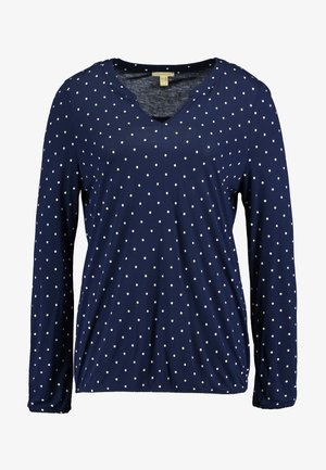 CORE TEE - Long sleeved top - navy