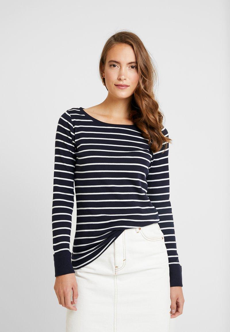 Esprit - T-shirt à manches longues - navy
