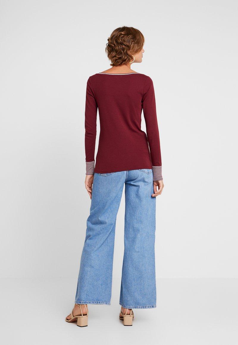 Esprit - CORE - Long sleeved top - garnet red