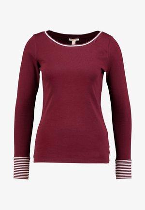 CORE - Long sleeved top - garnet red