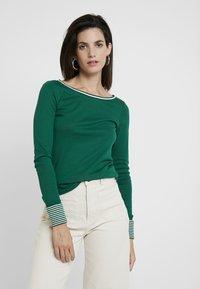 Esprit - CORE - Maglietta a manica lunga - bottle green - 0