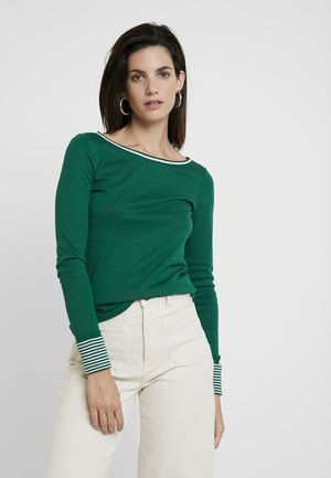CORE - Long sleeved top - bottle green
