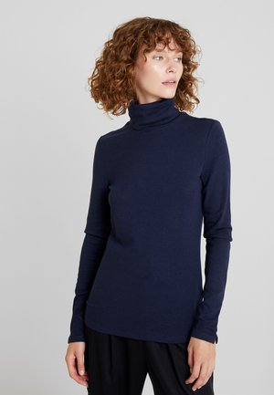 ROLLNECK - Long sleeved top - navy