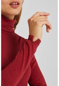 Esprit - T-shirt à manches longues - garnet red - 3