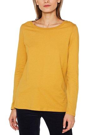 Long sleeved top - honey yellow