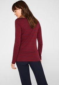 Esprit - T-shirt à manches longues - garnet red - 2