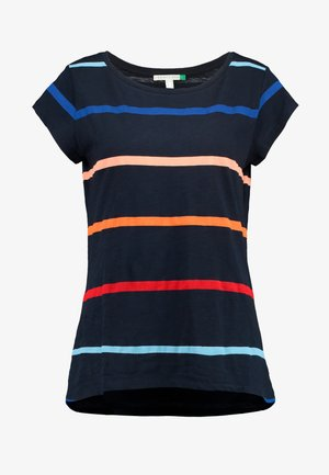 CORE OCS AOP T - T-shirts med print - navy