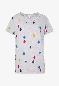 Esprit - T-shirt con stampa - light grey - 4