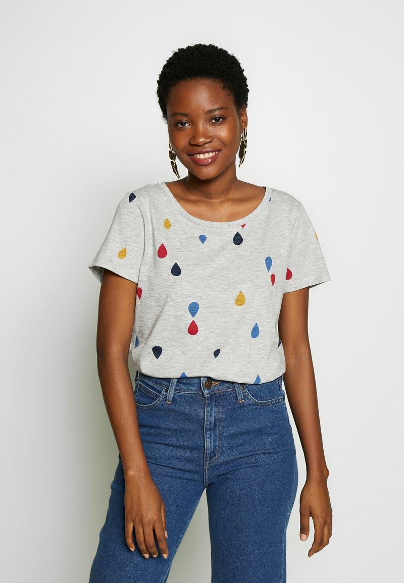 Esprit - T-shirt con stampa - light grey