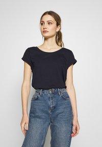 Esprit - CORE - T-shirt basic - navy - 0
