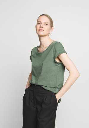 CORE - Basic T-shirt - khaki green