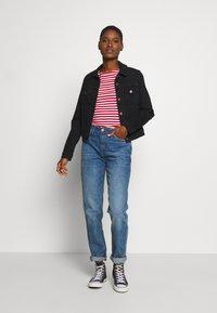 Esprit - NOOS OCS TEE - Maglietta a manica lunga - dark red - 1