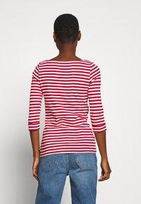 Esprit - NOOS OCS TEE - Maglietta a manica lunga - dark red - 2