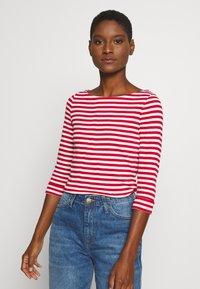Esprit - NOOS OCS TEE - Maglietta a manica lunga - dark red - 0