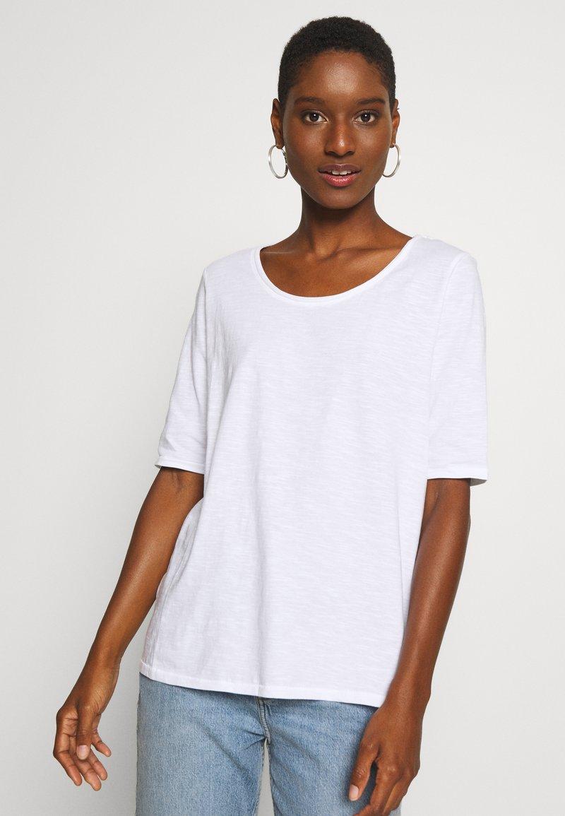 Esprit - CORE - Basic T-shirt - white