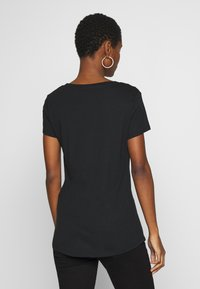 Esprit - 2 PACK - T-shirt basic - black - 2
