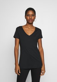 Esprit - 2 PACK - T-shirt basic - black - 0