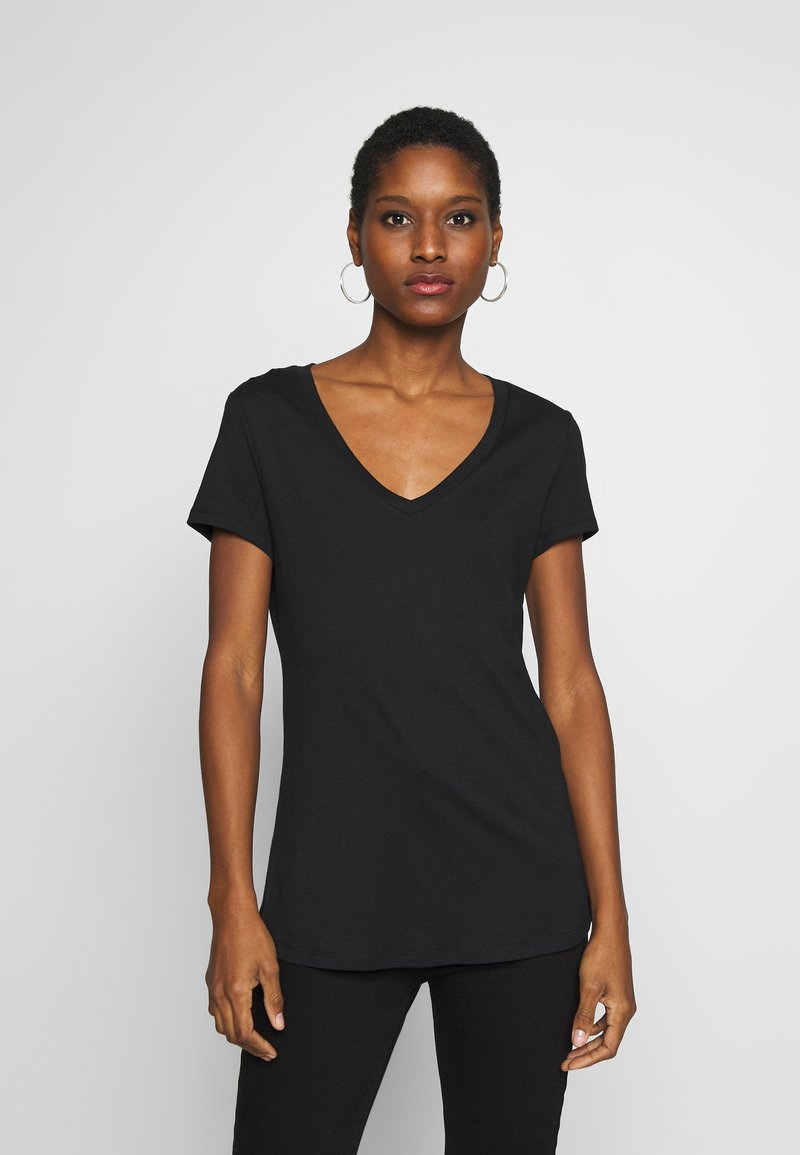 Esprit - 2 PACK - T-shirt basic - black