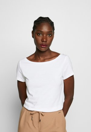 SCOOP - Basic T-shirt - white