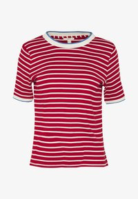 Esprit - TEE - T-shirts med print - dark red - 3