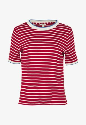 TEE - Print T-shirt - dark red