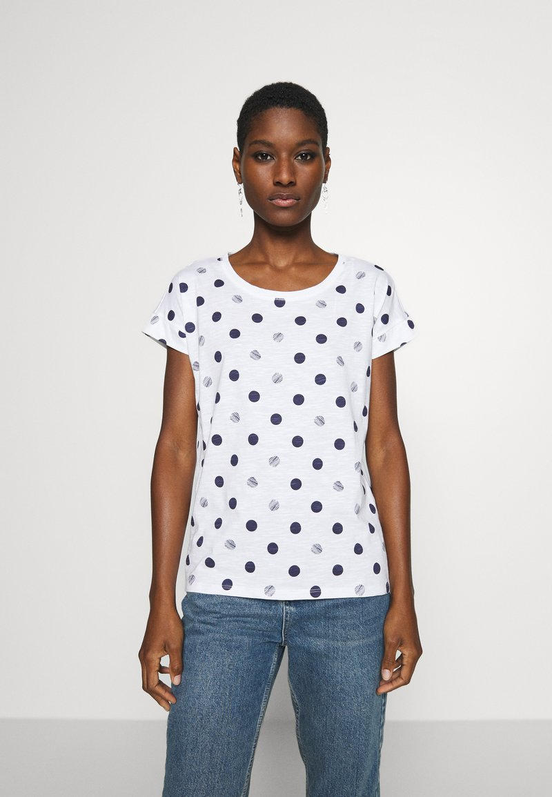 Esprit - CORE - T-shirts med print - white