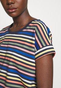 Esprit - CORE - T-shirt z nadrukiem - navy - 5
