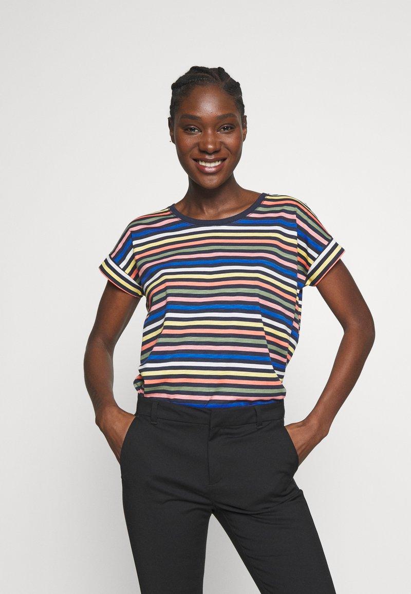 Esprit - CORE - T-shirt z nadrukiem - navy