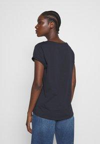 Esprit - CORE - T-shirts med print - navy - 2