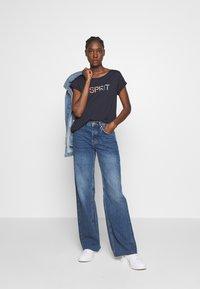 Esprit - CORE - T-shirt z nadrukiem - navy - 1