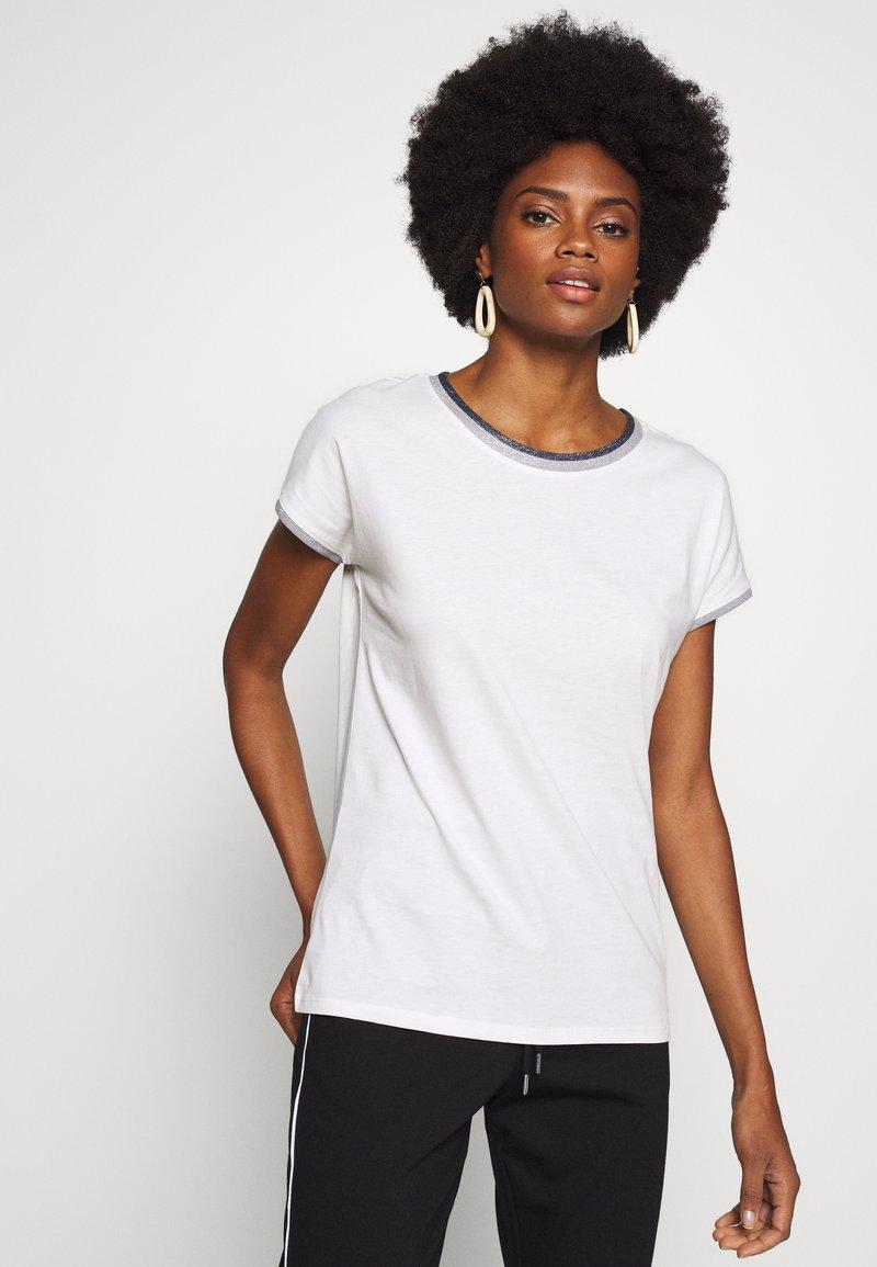 Esprit - CORE - T-shirt z nadrukiem - off-white