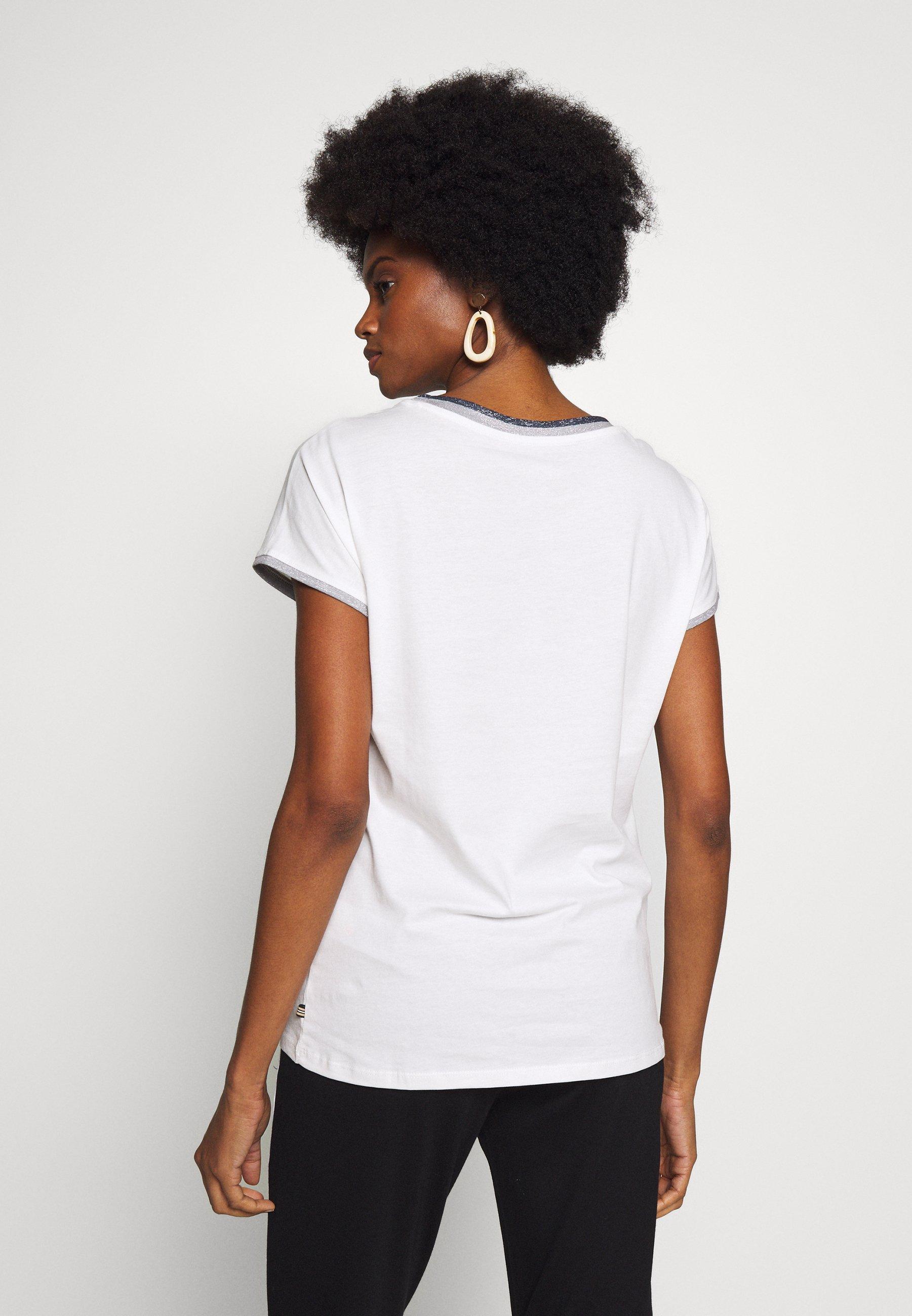 Esprit CORE - T-shirts med print - off-white