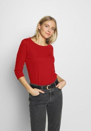 CORE  - Maglietta a manica lunga - dark red