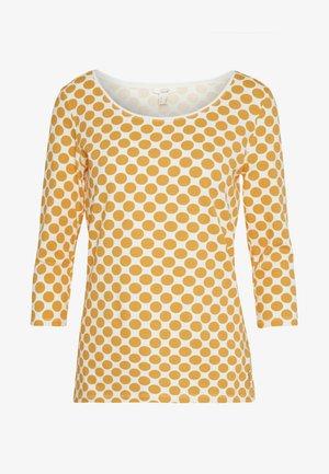 CORE - Top sdlouhým rukávem - yellow