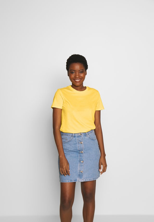SG-010EE1K342       CORE OCS FLW T - T-shirt basic - yellow
