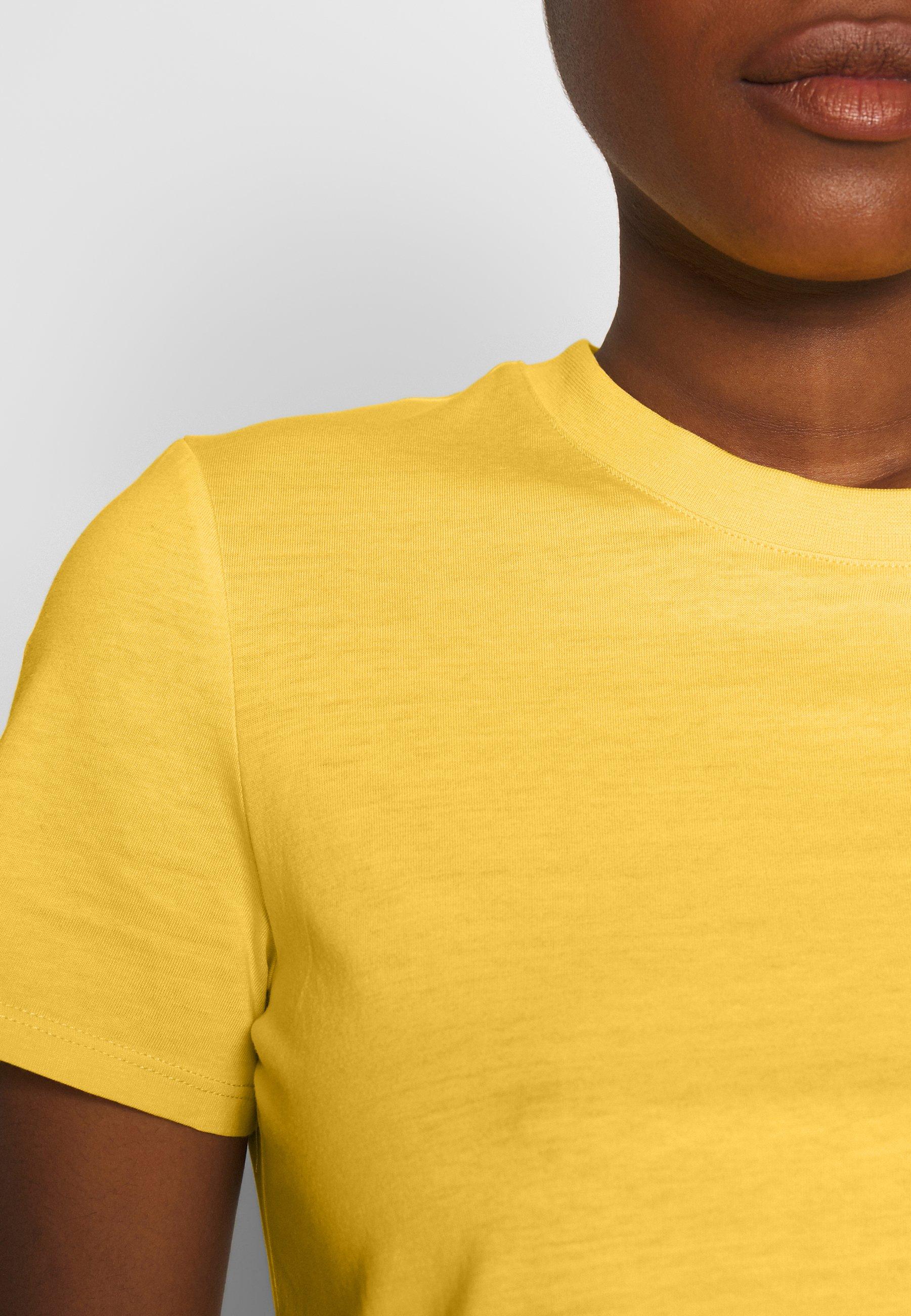 Esprit SG-010EE1K342       CORE OCS FLW T - T-shirts - yellow