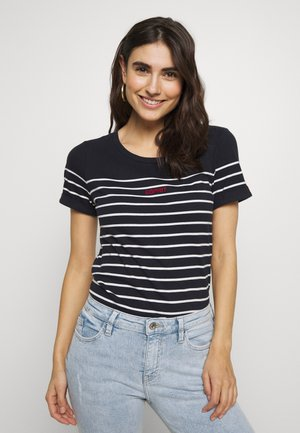 STRIPE - T-shirts med print - navy