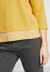 Esprit - Maglietta a manica lunga - yellow - 4