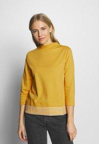 Esprit - Maglietta a manica lunga - yellow - 0