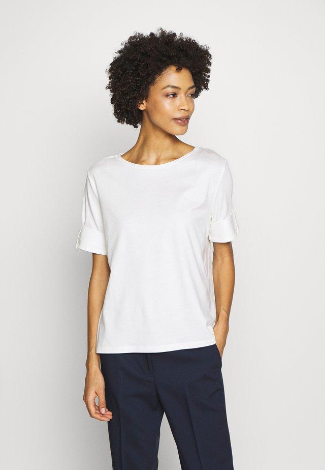 TEXTURE - T-shirt z nadrukiem - off-white