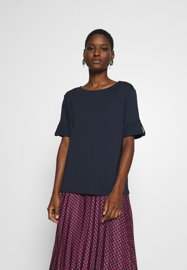 TEXTURE - T-shirt con stampa - navy