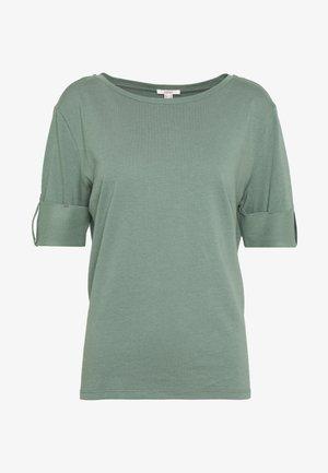 TEXTURE - T-shirt print - khaki green
