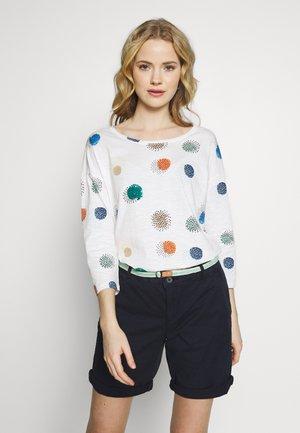 Camiseta de manga larga - off white