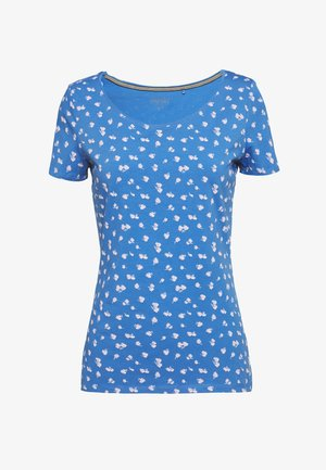 T-shirts med print - bright blue