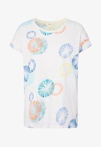 Esprit - MLA-030EE1K338      CORE OCS FLW AW - T-shirts med print - off white - 3