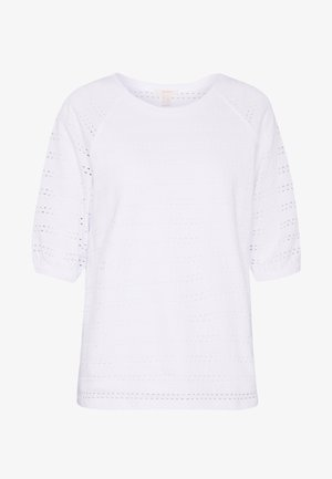 LACE TEE - T-shirts med print - white