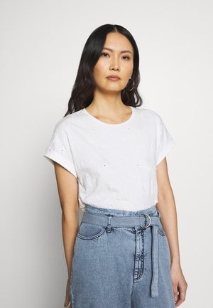 CORE - T-shirts med print - off white
