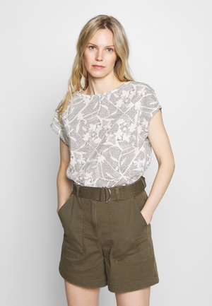 MIX - T-shirt con stampa - off white