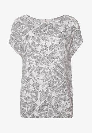 MIX - T-shirt imprimé - off white
