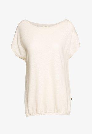 Camiseta básica - sand
